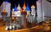 Excalibur Hotel and Casino in Las Vegas — Stock Photo