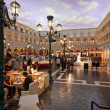The Piazza San Marco replica on second floor inside of Venetian Resort Hotel & Casino in Las Vegas — Stock Photo #24549125