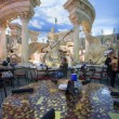 Постер, плакат: Cafe in Forum Shops at Caesars Palace hotel in Las Vegas
