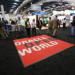 Stock Photo: Exhibition hall at Oracle OpenWorld conference in Moscone center