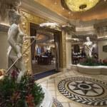 Caesars Palace hotel gambling hall in Las Vegas — Stock Photo