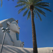 Great Sphinx of Giza at the Luxor hotel in Las Vegas - Stock Photo