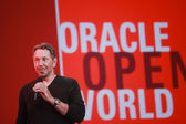 SAN FRANCISCO, CA, SEPT 22, 2013 - CEO of Oracle Larry Ellison m — Stock Photo