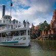 Stock Photo: PARIS, FRANCE - NOVEMBER 18, 2009: Pleasure ship Molly Brown at