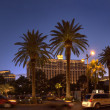 Las Vegas Strip at night — Stock Photo
