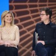 ������, ������: Twitter founder Biz Stone and Huffington Post Media Group President Arianna Huffington left at Microsoft Convergence conference panel discussion