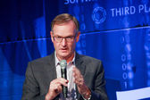 LAS VEGAS, NV - MAY 6, 2014: CEO EMC Information Infrastructur — Stock Photo