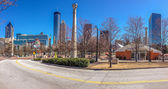 ATLANTA, GA, USA, MARCH 5, 2014 - Centennial Olympic Park was built for the Centennial 1996 Summer Olympics and remains a popular destination on March 5, 2014 in Atlanta, GA, USA — Stock Photo