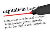 Capitalism — Stock Vector