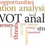 Swot analysis — Stock Vector #46600077