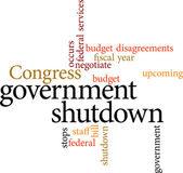 Government shutdown — Stock Vector