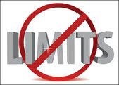 Limits off — Stock Vector