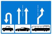 Metaphorical road sign — Stock Photo