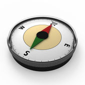 Metaphorical compass for buyers — Stock Photo