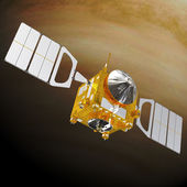 "Space station ""Venus Express"" — Stock Photo"