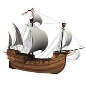 Caravel. — Stock Photo