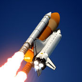 Space Shuttle Launch. — Stock Photo