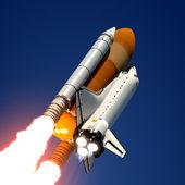 Uzay mekiği fırlatma. — Stok fotoğraf