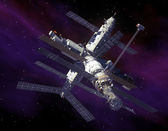 Space Station in Space. — Foto Stock
