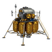 Lunar Lander — Stock Photo