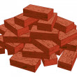Stock Vector: Bricks