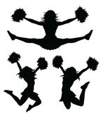 Cheerleaders — Wektor stockowy