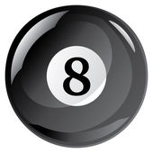 Eight Ball — Vector de stock