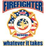 Firefighter Cross — Stock Vector #25858693