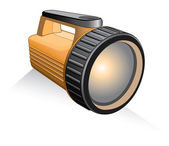 Flashlight — Stock Vector