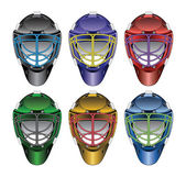 Ice Hockey Goalie Masks — Vecteur