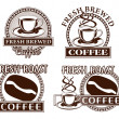 Coffee Designs — Stock Vector