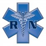 Registered Nurse Star of Life Medical Symbol — Stock Vector #38659859