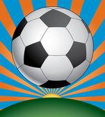 Temporada de fútbol — Vector de stock