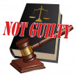 Stock Vector: Not Guilty Verdict