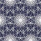 Black and white textile pattern — Stock Vector
