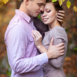 Happy couple in love in spring day. Family. relationship. man and woman on dating. Friendship - Stock fotografie
