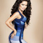 Fashion portrait of beautiful slim girl sexy woman in stylish dress — Stock Photo