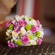 Stock Photo: Beautiful wedding bouquet