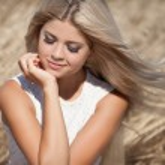 Attractive happy blonde woman — Stock Photo #29907125