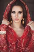 Bela jovem indiana — Fotografia Stock