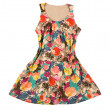 Vintage flower print dress — Stock Photo #23119906