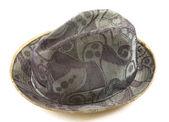 Abstract pattern fedora hat — Stock Photo
