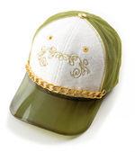 Tappo verde e oro di lusso — Foto Stock