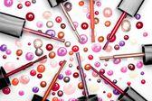 Lustrador de prego em muitas cores — Fotografia Stock