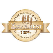 Business Vector rubber stamp Satisfaction Guaranteed — Vetorial Stock