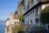 Monastery S Caterina lake Maggiore — Stock Photo