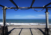 глубокое синее море — Стоковое фото