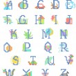 Royalty-Free Stock Vector Image: Babyboy alphabet