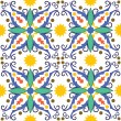Mediterranean tile - Stock Vector