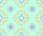 Geometrical barocco pattern — Stock Vector